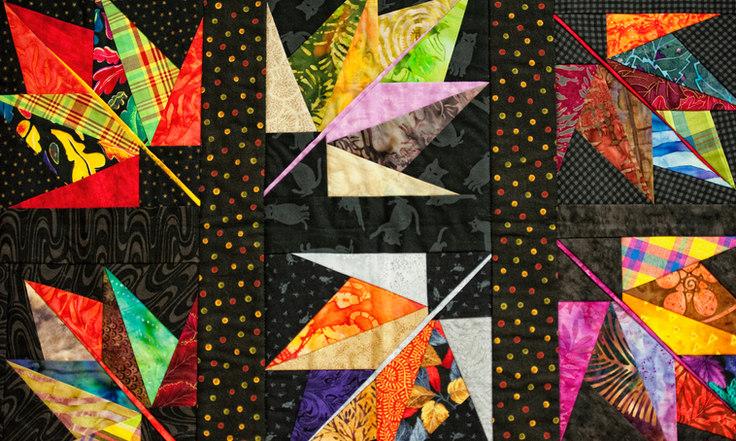 quilt pattern for workshop in northwoods