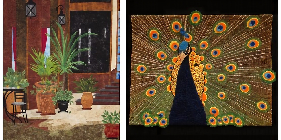 Quilting Fiber Art Workshop with Awarded Toni Bergeon