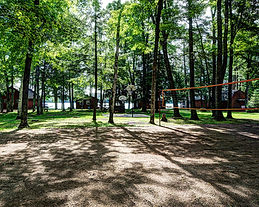 volleyball net area
