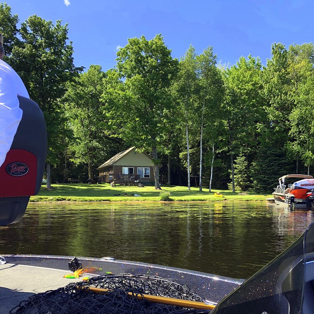 lakeside cabin minocqua wi