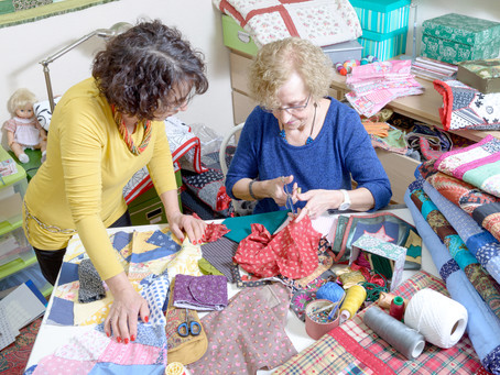 Keeping the Spirit of Quilt Making Alive at Birch Trail Resort