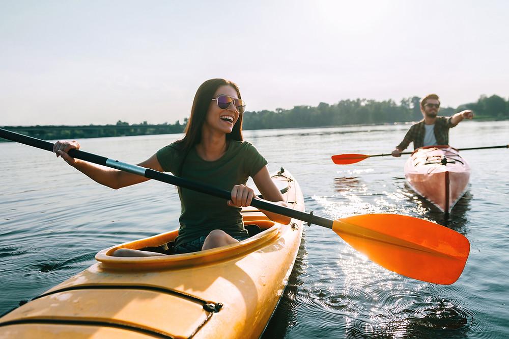 canoeing in minocqua wi