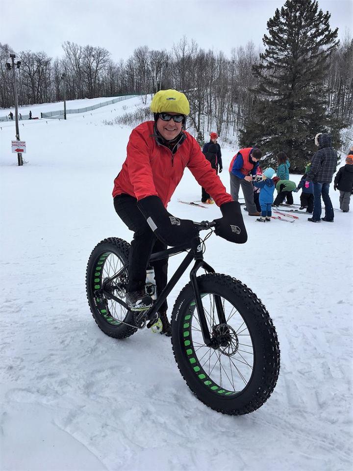 minocqua winter resort fat tire bike
