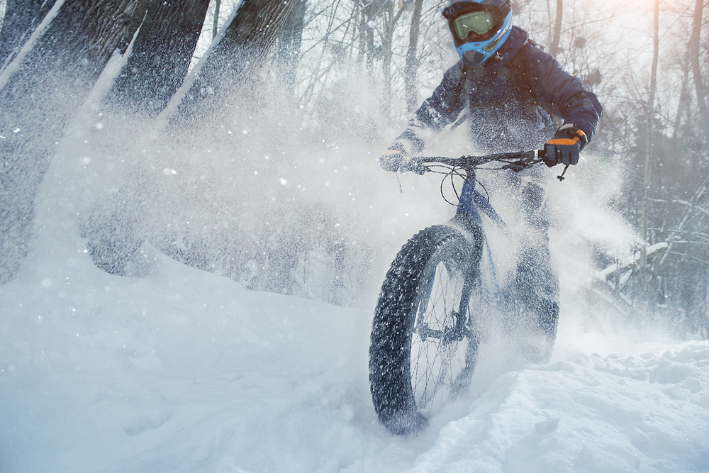 fat tire biking in minocqua wi