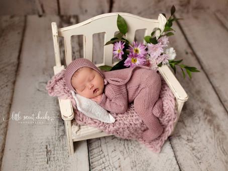 Little Sweet Cheeks Photography, LLC | Central IL, Newborn Photography | La Rose, IL