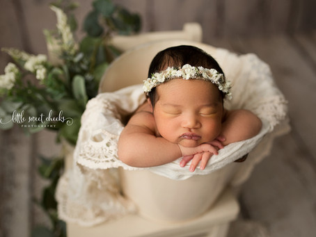 Little Sweet Cheeks Photography, LLC | Central IL, Newborn Photography | Morton, IL