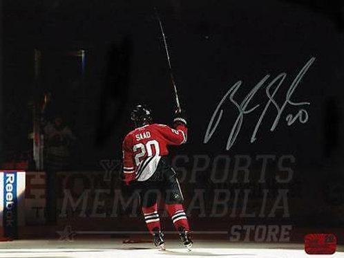 Brandon Saad Chicago Blackhawks Signed Autographed Spotlight Entrance 8x10