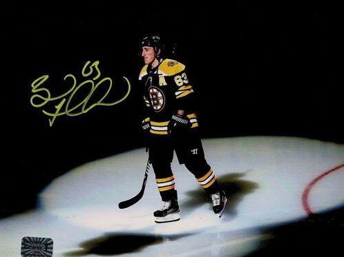 Brad Marchand Boston Bruins Signed Spotlight Introduction 8x10 Photo