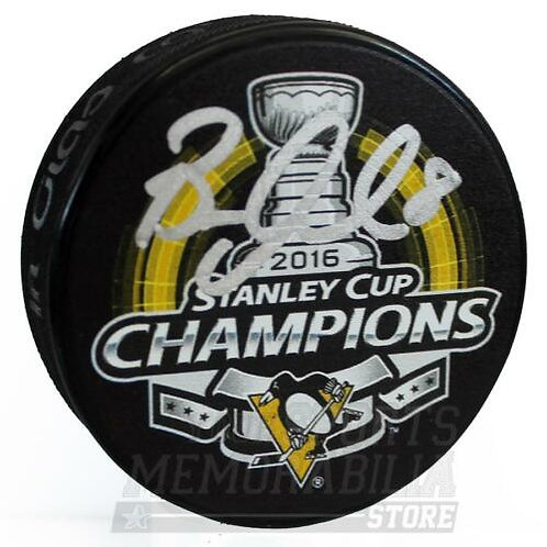 Brian Dumoulin Pittsburgh Penguins Signed Autographed Stanley Cup Champs Puck