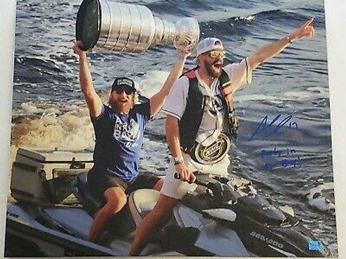 Alex Killorn Tampa Bay Lightning signed inscribed 20x24 STRETCHED canvas Stamkos