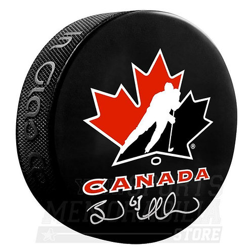 Brad Marchand Boston Bruins Signed Autographed Team Canada Hockey Puck
