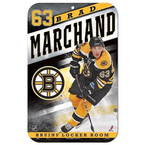 Brad Marchand Boston Bruins 63 Action Shot 11x17""