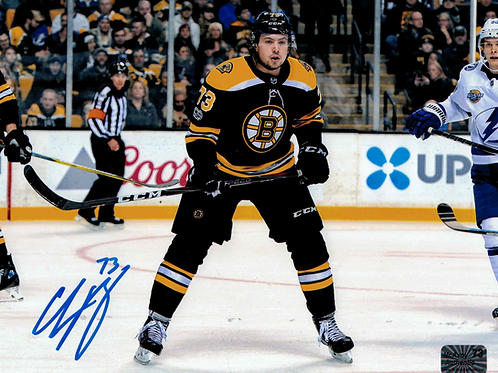 CHARLIE MCAVOY  Boston Bruins Signed autographed HOME ACTION NPF 16x20