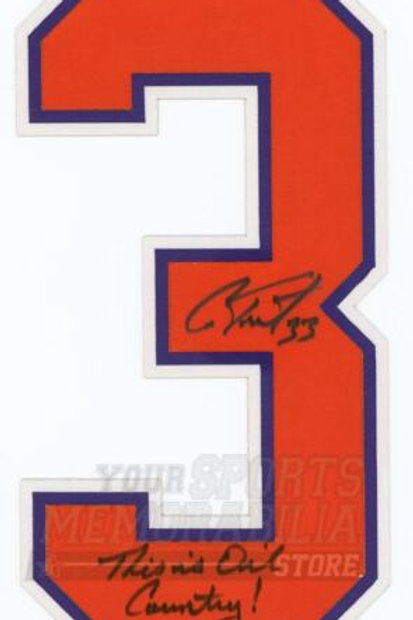 Cam Talbot Edmonton Oilers Signed Autographed This Is Oil Country Jersey Number