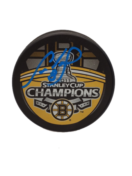 Cam Neely Boston Bruins signed autographed Bruins 2011 Stanley Cup Champ puck