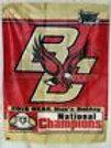 Chris Kreider New York Rangers Signed Boston College Champs Flag Kreider holo
