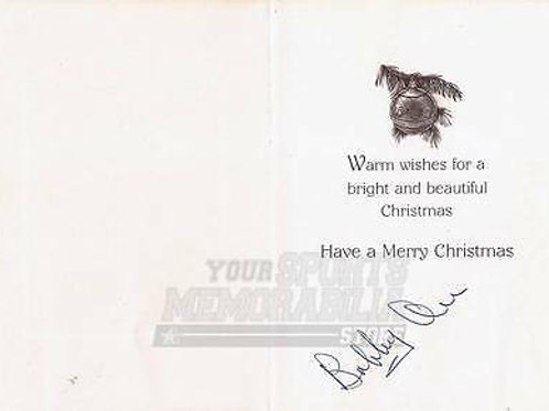 Bobby Orr Boston Bruins Signed Autographed Holiday Christmas Greeting Card