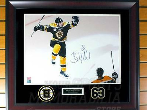 Brad Marchand Boston Bruins Signed Autographed Goal Celebration 16x20 Framed