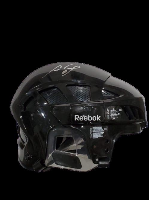 Cam Neely signed autographed BLACK, FULL SIZE Reebok helmet