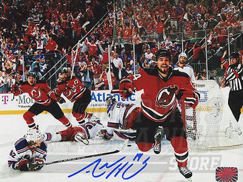 Adam Henrique New Jersey Devils Signed Autographed Goal Celebration 8x10 B