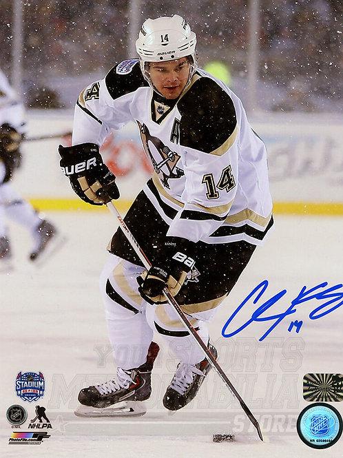 Chris Kunitz Pittsburgh Penguins Signed Autographed Stadium Series 8x10 PF