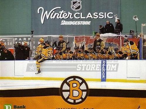 Boston Bruins Winter Classic team bench  8x10 11x14 16x20 photo 0983