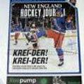 Chris Kreider New York Rangers Signed New England Hockey Journal Cover hologram