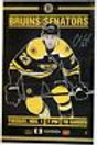 Chris Kelly Boston Bruins Signed Autographed Game Day Roster Poster 11x17