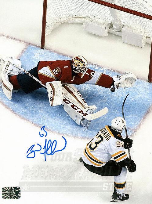 Brad Marchand Boston Bruins Signed Autographed Penalty Shot 16x20