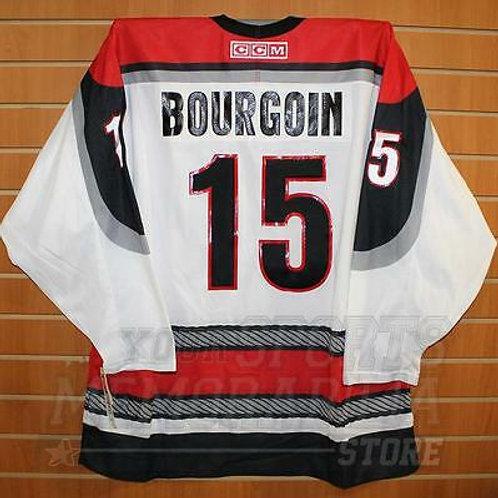 Bourgoin Portland Pirates #15 AHL CCM Official Replica Hockey Jersey XL