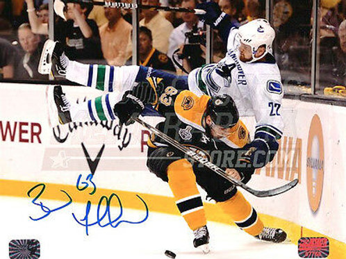 Brad Marchand Boston Bruins Stanley Cup signed 16x20 J