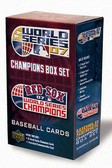 2007 World Series Champions Boston Red Sox Commemorative Set