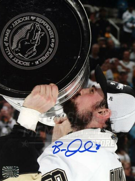 Brian Dumoulin Pittsburgh Penguins Signed Autographed Kissing Stanley Cup 8x10