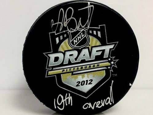 Andrei Vasilevskiy Tampa Bay Lightning Signed Official Draft Puck W/ Inscription