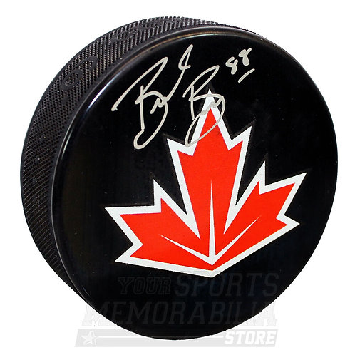 Brent Burns San Jose Sharks Signed Autographed Team Canada World Cup Hockey Puck
