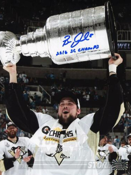 Brian Dumoulin Pittsburgh Penguins Signed Autographed Stanley Cup Inscribe 16x20