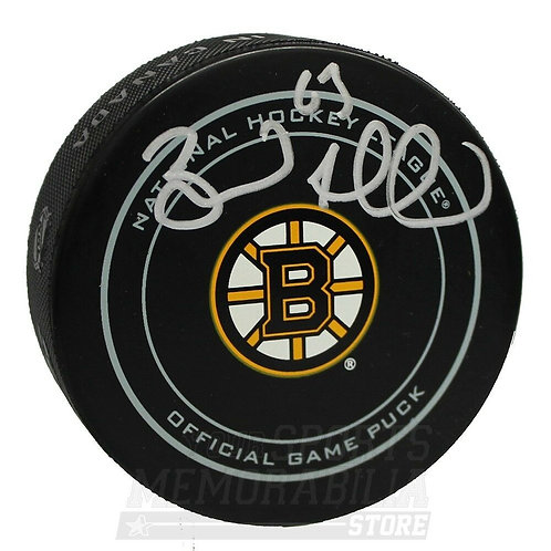 Brad Marchand Boston Bruins Signed Autographed official  Game Puck