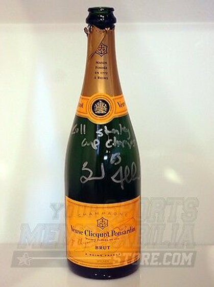 Brad Marchand Boston Bruins Signed Champagne Bottle 2011 Stanley Cup Champs