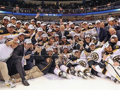 Boston Bruins 2011 Stanley Cup Champions  ice celebration 8x10 11x14 16x20 1771