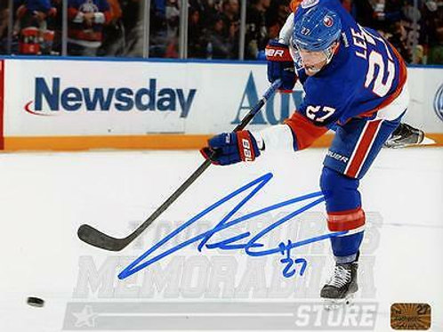 Anders Lee New York Islanders Signed Autographe?d Shot Home Action 16x20