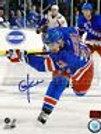 Chris Kreider New York Rangers Signed Upclose Action 16x20 Kreider hologram