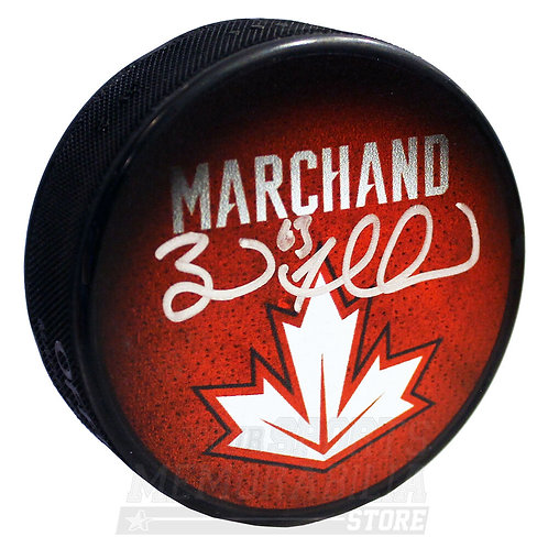 Brad Marchand Boston Bruins Signed Autographed Canada World Cup of Hockey - LE