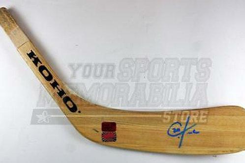 Chris Kreider New York Rangers Signed Autographed Pro Issued Hockey Stick Blade