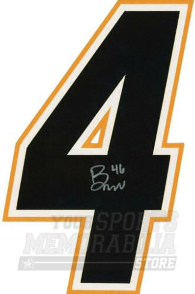 Bill Arnold Calgary Flames Signed Autographed Home Jersey Number