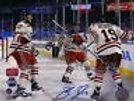 Brad Richards New York Rangers Signed 2012 Winter Classic Celebration 16x20