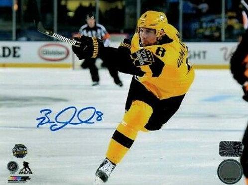 Brian Dumoulin Pittsburgh Penguins Signed Autographed Stadium Series Shot 8x10