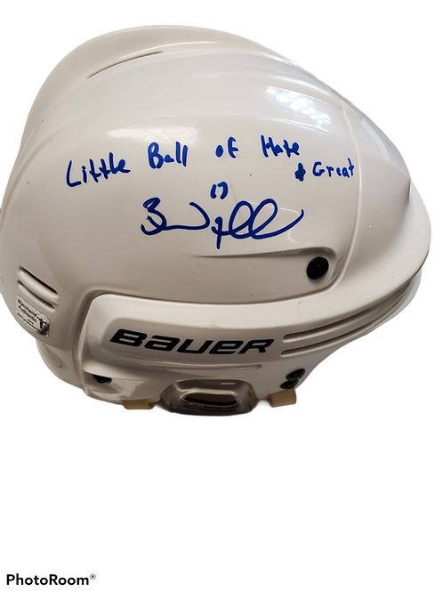 Brad Marchand Boston Bruins signed FULL SIZE Bauer inscribed Little Ball of H+G