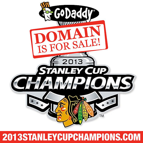 2013 STANLEY CUP CHAMPIONS .COM - Blackhawks - Hockey - Domain Name - GoDaddy