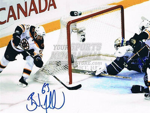 Brad Marchand Boston Bruins Stanley Cup signed 8x10 C