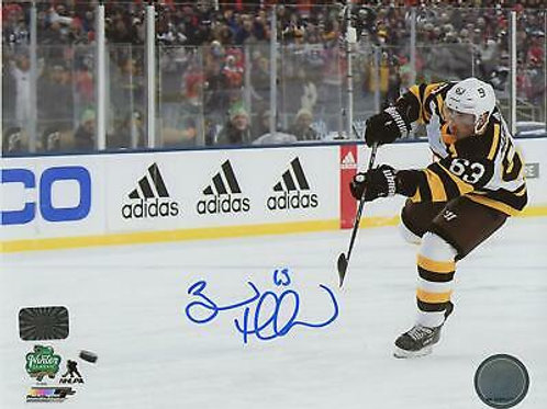Brad Marchand Boston Bruins Signed Autographed 2019 Winter Classic Shot 8x10